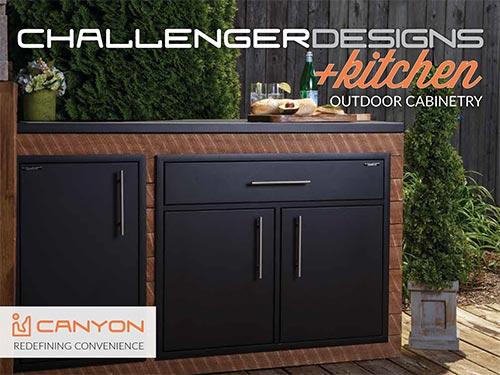 CHALLENGER DESIGNS +kitchen Canyon Series