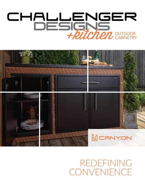 CHALLENGER DESIGNS Canyon Series +kitchen