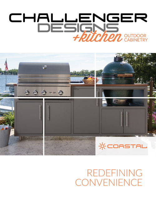 CHALLENGER DESIGNS Coastal Series +kitchen
