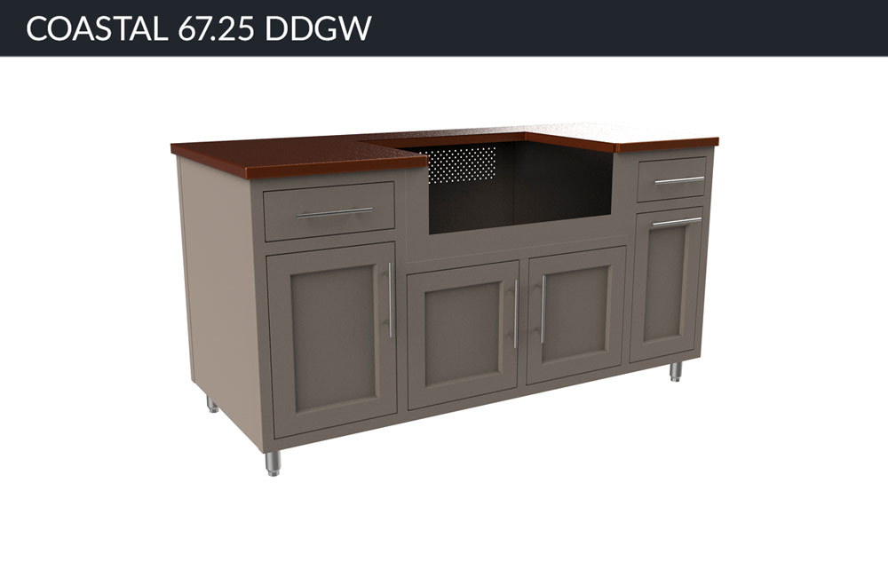 CHALLENGER DESIGNS Coastal 67.25 DDGW