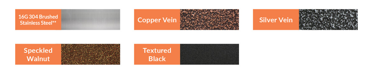Countertop Color Options