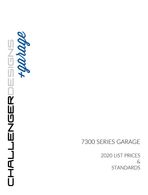 CHALLENGER DESIGNS Garage Catalog